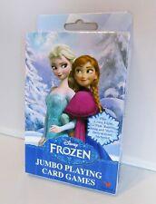 Frozen Disney Princess Elsa Anna Jumbo Playing Cards Crazy Eight Go Fish Game