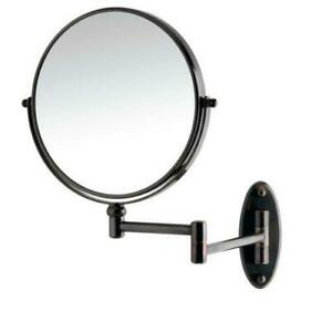 Conair WALL- MOUNT Vanity Bathroom Beauty Makeup MIRROR with 1X/5X Magnification