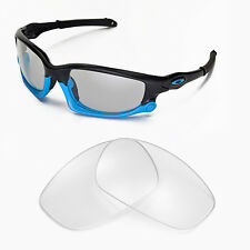 New Walleva Clear Lenses For Oakley Split Jacket