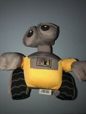 "Disney Store Pixar WALL-E Plush Stuffed Animal Toy Yellow Robot 6"""