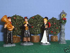 TOY SOLDIERS  METAL CHRISTMAS SALVATION ARMY BAND 4pc 40MM