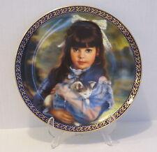 SANDRA KUCK KITTEN Collector Plate  COA