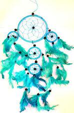 CAPTEUR/ATTRAPEUR DE REVE/DREAM CATCHER BLEU TURQUOISE  dreamcatcher Light blue