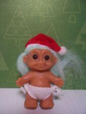 "SANTA BABY - 2"" Russ Troll Doll - NEW IN ORIGINAL WRAPPER"