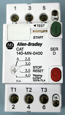 Allen Bradley CAT 140-MN-0400, Manual motor starter