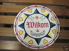 """8"""" PA Dutch Hex Sign-H-13 Good luck & Happiness Made In The USA"""