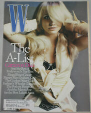 W Magazine February 2004 Featuring Cameron Diaz The A-List Brian Grazer