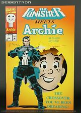 PUNISHER MEETS ARCHIE Marvel Comics Archie Comics Crossover 1994