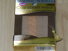 NEW PHYSICIANS FORMULA CASHMERE WEAR IN LIGHT BRONZER FACE POWDER 7337