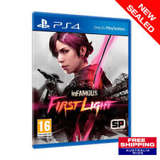 Ps4 Infamous First Light Sony PlayStation 4 Game PS 4