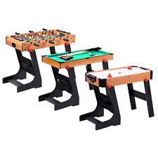 Football Table Folding Gaming Game Sports Pool Air Hockey Foosball Soccer Indoor
