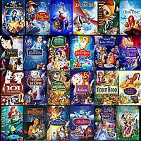 Disney Pixar DVD Movies Lot