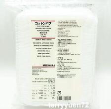 Muji Daily Soft Facial 100% Cotton Pad Puff 189 sheets 60x50mm