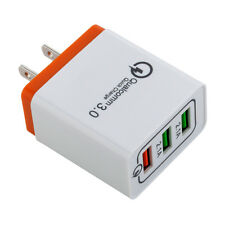 30W 3-Port USB Wall Charger Dual Quick Charge 3.0 Ports For iPhone Samsung LG
