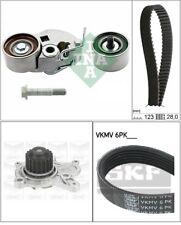 Kit distribuzione INA pompa acqua, cinghia servizi 530054210/co Hyundai i30 (FD)