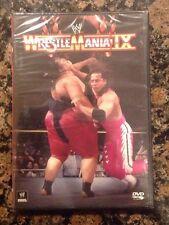 WWF - WrestleMania IX 9 (DVD, 2013)NEW- Authentic US Release