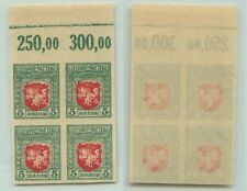 Lithuania 🇱🇹  1919  SC  60  MNH imperf,  block  of    . rt8306