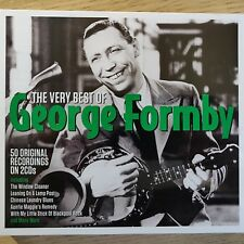 2CD NEW SEALED - THE VERY BEST OF GEORGE FORMBY - Pop Comedy Music 2x CD Album