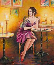 Taras Sidan- Smile   Giclee on Canvas Signed & Numbered   COA