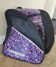 Transpack Junior Ski / Snowboard Boot / Ice Skates Bag * Leopard Print *