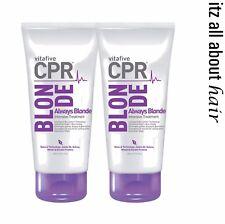 Vitafive CPR Always Blonde Treatment 180ml Duo