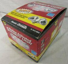 NIB Heath Zenith Motion Activated Security Light SL-5412-WH2 w/ Bonus Bulbs