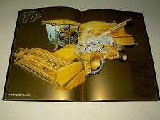 Catalogue Moissonneuse New Holland TF Sperry Tracteur Tractor Traktor Brochure