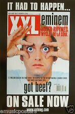 "EMINEM ""XXL MAG: SLIM SHADY WITH EYES WIDE OPEN"" POSTER FROM 2000 -  Rap Music"