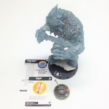 Heroclix The Mighty Thor set Frost Giant #G007 (w/Spear) Colossal figure w/card!