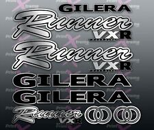 Gilera Runner VXR Style Stickers Decals Set Kit Rep  125 172 180 200