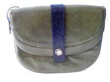 Damentasche Schultertasche Leder grün, Trachtenlook Landhausmode