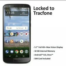 Tracfone Motorola Moto G6 4G LTE Prepaid Cell Phone FAST PRIORITY MAIL SHIPPING!