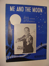 Me and the Moon  Hirsch & Handman 1936 piano lyrics chords Rubinoff & His Violin