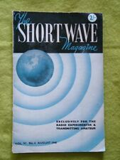 THE SHORT WAVE MAGAZINE  / AUG 1948 / HARTLEY-CO QRP TRANSMITTER