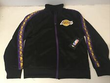 Los Angeles Lakers Youth Jacket NBA Style #VKY5844F Black Purple Yellow *NWT*