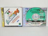 VICTORY GOAL 96 Sega Saturn Japan ss