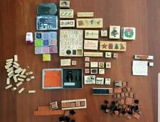 Bundle Of rubber Stamps for Scrapbooking Cardmaking
