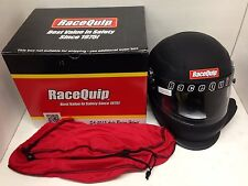 Racequip 293997 Side Fresh Air Pro15 SA2015 XXL Flat Black Racing Helmet imca