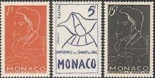 MONACO 1954 Frederic OZANAM/ST VINCENT DE PAUL carità/Benessere 3v Set (n43797)