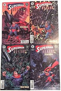 SUPERMAN & ALIENS II#1-4 VF/NM LOT 2002  DC/DARK HORSE COMICS