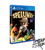 Spelunky PS4 Playstation 4 Limited Run Games #220 LRG 3000 WW Brand New Sealed