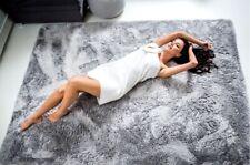 Hochflor Teppich für Wohnzimmer Weich Flauschig Strapazierfähig Robust PLUSCH