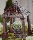 New Miniature Fairy Garden Yard Decor Classical Classic Folly Gazebo Weathervane