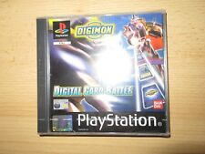 Digimon digital Card Battle de Bandai para la Sony PS1 usado completo
