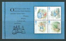 GREAT BRITAIN 2016 BEATRIX POTTER PETER RABBIT PRESTIGE PANE, FINE USED