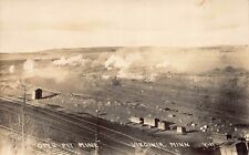 Real Photo Postcard Open Pit Mine in Virginia, Minnesota~128387