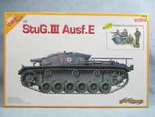 DRAGON model kit 9106 - Open Box - StuG.III Ausf.E  - 1:35 scale