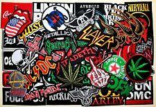 WHOLESALE Lot 50 Heavy Punk Hard Rock Band Music Motif Embroidery Iron patch #4
