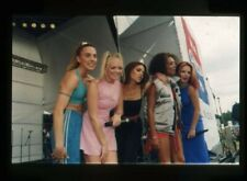 Spice Girls on stage Scary Sporty Baby Posh Ginger Original 35mm Transparency