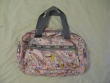 LeSportsac 'Fifi Lapin' Sweethearts Print Travel Weekend Bag - Rare & HTF